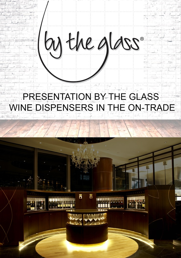 Presentation By The Glass Wine Dispenser On Trade