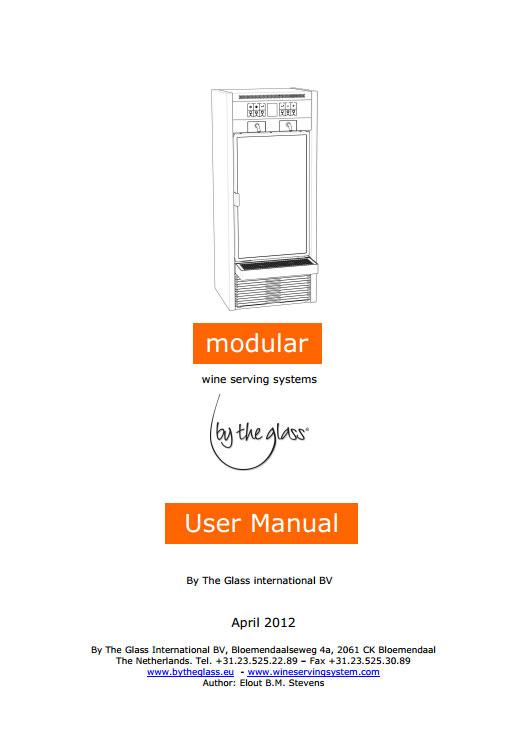 User Manual Modular v14